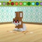 Nintendo Switchダウンロード専用ソフト『キュービックペイント』が3月1日から配信開始!タッチ操作で遊べる彫刻ゲーム!