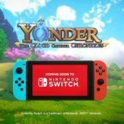Nintendo Switch版『Yonder 青と大地と雲の物語』が正式アナウンス。オープンワールドのアクションアドベンチャー