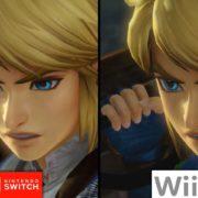 『ゼルダ無双』のSwitch版とWii U版の比較映像が公開!