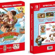 『ドンキーコング トロピカルフリーズ Special Edition』の開封動画が公開!
