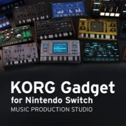 『KORG Gadget for Nintendo Switch』の配信日が4月26日に決定!