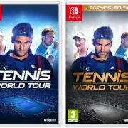 『Tennis World Tour』の海外パッケージが公開!Legends Edition版の発売も