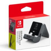 おすそわけプレイを快適に楽しめる『Nintendo Switch 充電スタンド (フリーストップ式)』が2018年7月13日に発売決定!