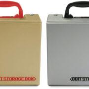 シルバー&ゴールドカラーがカッコいい「クラシックミニFC用 収納ケース」がコロンバスサークルから7月7日に発売決定!