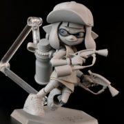 マックスファクトリーから発売される『figma Splatoon ガール DXエディション』の監修中画像が公開!