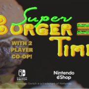 【スーパーバーガータイム】『Johnny Turbo's Arcade: Super Burger Time』の紹介映像が公開!