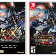 海外版モンハンXX『Monster Hunter Generations Ultimate』のボックスアートが公開!