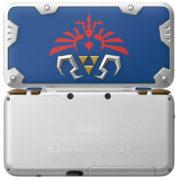 ハイラルの盾をイメージした2DS『New Nintendo 2DS XL Hylian Shield Edition』の開封動画が公開!