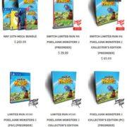 2500部限定のSwitch版『PixelJunk Monsters 2 Collector's Edition』は1時間持たずに完売!