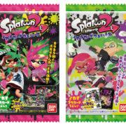 【更新】『スプラトゥーン2 イカすカードウエハース』が2018年8月に発売決定!