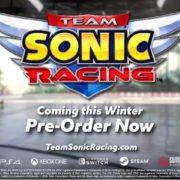 PS4&Xbox One&Switch&PC用ソフト『Team Sonic Racing』が発表!ソニックのキャラクターが登場する3Dレースゲーム