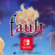 PS4&Switch版『fault』が海外で発売決定!「少年漫画を少女達でやる青年漫画調の冒険譚」がコンセプトのビジュアルノベル