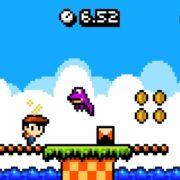 3DS&Switch向けのノンストップアクションゲーム『キッドトリップ RUN!』の体験版が配信開始!さらに「HD振動」にも対応!