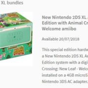 とびだせ どうぶつの森が同梱された2DS『New Nintendo 2DS XL Animal Crossing Edition with Animal Crossing: New Leaf – Welcome amiibo』が欧州で発売決定!