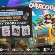 Switch用ソフト『Overcooked 2』が2018年8月7日に発売決定!料理アクションパズルの最新作