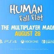 『Human: Fall Flat』の無料アップデートが8月28日に配信決定!8人オンラインプレイに対応へ