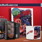 Switchパッケージ版『Night Trap』の予約がLimited Run Gamesで近日開始!3000本限定のCollector's Editionも!