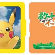 マックスゲームズから『ポケットモンスター Let's Go! ピカチュウ・Let's Go! イーブイ』デザインの「カードポケット24&スタンド付きカバー」が11月16日に発売決定!
