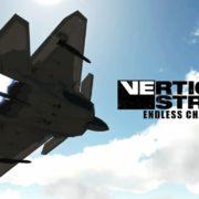Switch版『Vertical Strike Endless Challenge』の配信日が7月19日に決定!本格的なフライトアクションゲーム