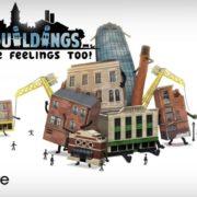 都市建設ゲーム『Buildings Have Feelings Too!』がPS4&Xbox One&Switch&PC向けとして海外発売決定!