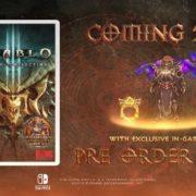 Switch版『Diablo III』が正式発表!「ゼルダの伝説」とのコラボコンテンツも収録!