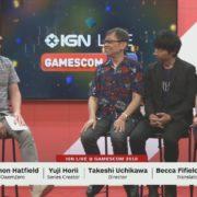 「Gamescom 2018」で堀井雄二さんと内川Dが登壇した『ドラゴンクエストXI』のセッションが開催!アーカイブ動画あり