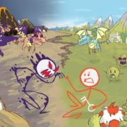 Switch用ソフト『Draw a Stickman: EPIC 2』が2018年8月9日に配信決定!落書き棒人間の活躍を描いたパズルアクション
