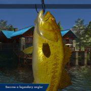 Nintendo Switch版『Legendary Fishing』が海外向けとして発売決定!アーケードスタイルのバス釣りゲーム