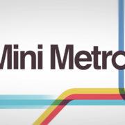 Nintendo Switch版『Mini Metro』の海外配信日が発売決定!鉄道運営風のパズルゲーム