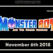 『Monster Boy and the Cursed Kingdom』の海外発売日が2018年11月6日に決定!