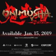 初代「鬼武者」のリマスター版『Onimusha: Warlords』がPS4&Xbox One&Switch&PC向けとして海外で発売決定!
