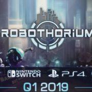 未来を舞台にしたターンベースのSF・RPG『Robothorium』の海外発売日が2019年Q1に決定!さらにコンソールでもリリースへ