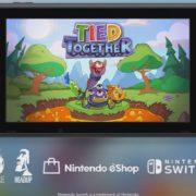 『Tied Together』がSwitch向けとして発売決定!ローカルコープに対応したクレイジーなアクションゲーム
