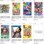 【TSUTAYA ゲームランキング】2018年8月13日~8月19日のランキングが公開!