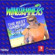 Switch版『Windjammers』が2018年10月23日に発売決定!エアホッケー風の対戦バトルスポーツ!