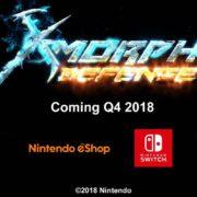 Switch版『X-Morph: Defense』が海外向けとして2018 Q4に発売決定!トップダウンSTG+タワーディフェンスストラテジー
