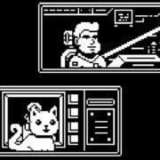 Switch&PC用ソフト『Gato Roboto』が海外向けとして2019年に発売決定!白黒ドット絵のアクションゲーム