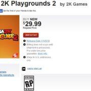 『NBA 2K プレイグラウンド2』のパッケージ版が海外で発売決定!