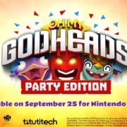 Switch版『Oh My Godheads: Party Edition』が2018年9月25日に海外配信決定!マルチプレイに対応したパーティアクションゲーム