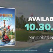 Switch版『Sports Party』が海外向けとして2018年10月30日に発売決定!6つの競技を収録したパーティスポーツゲーム