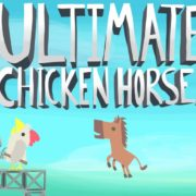 Switch用ソフト『Ultimate Chicken Horse』が2018年9月25日に配信決定!ドタバタなパーティアクションゲーム