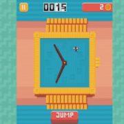 Switch版『Fly O'Clock』が海外向けとして発売決定!時計の針から逃げ回るピクセルアートのジャンプアクションゲーム