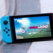 『FutureGrind』がNintendo Switchに対応決定!トリック、スキル、スピードを備えた未来的なスタントレーサーゲーム