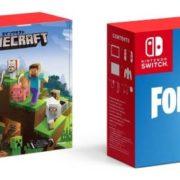 【更新】『Nintendo Switch Minecraftセット』と『Nintendo Switch + フォートナイト バトルロイヤル セット』が2018年11月に発売決定!予約開始