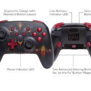 PowerAから「Diablo III Eternal Collection」デザインの『Nintendo Switch: Bluetoothワイヤレスコントローラー』が海外向けとして発売決定!