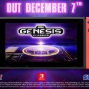 Switch版『Sega Genesis Classics』の海外発売日が2018年12月7日に決定!特集トレーラーが公開!