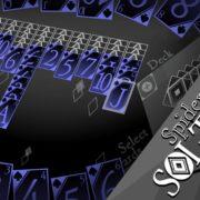 Switch版『スパイダーソリティア BLACK』の国内配信日が2018年10月25日に決定!クールでシックなデザインのスパイダーソリティア