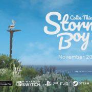 『Storm Boy The Game』の海外配信日が2018年11月20日に決定!少年とペリカンの友情を描いたアドベンチャーゲーム