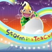 Switch版『Storm In A Teacup』が海外向けとして2018年10月25日に配信決定!魔法のティーカップに乗って遊ぶイライラ棒風の横スクロールACT