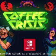 Switch版『Coffee Crisis』のゲームプレイトレーラーが公開!コーヒー豆をぶちまけて戦うベルトスクロールアクション